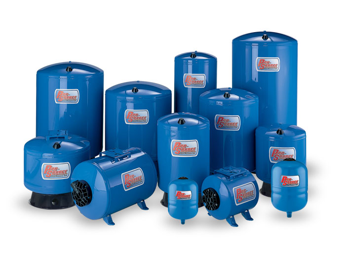 Sta-Rite Pro-Source Pressurised Water System Steel Tanks